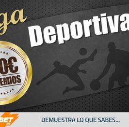 #LigaDeportiva: KirolBet nuevo patrocinador! Gana ahora 100 puntos y ll?vate 20? por registrarte