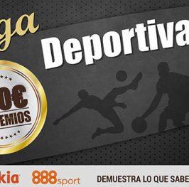 Nuevos premios en Liga Deportiva ?Entra gratis, te damos 100 puntos AHORA!